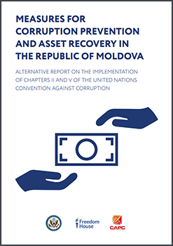 Moldova corruption prevention report