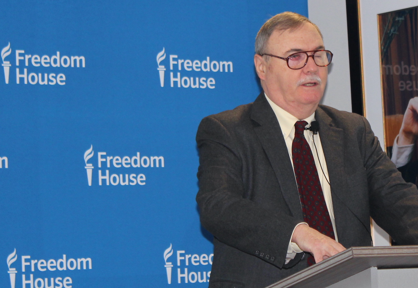 Arch Puddington Speaking at Freedom House