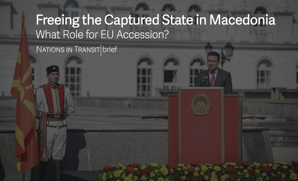 Macedonia Freeing the Captured State