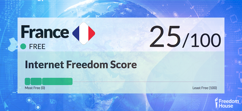 France Country Report | Freedom on the Net 2018