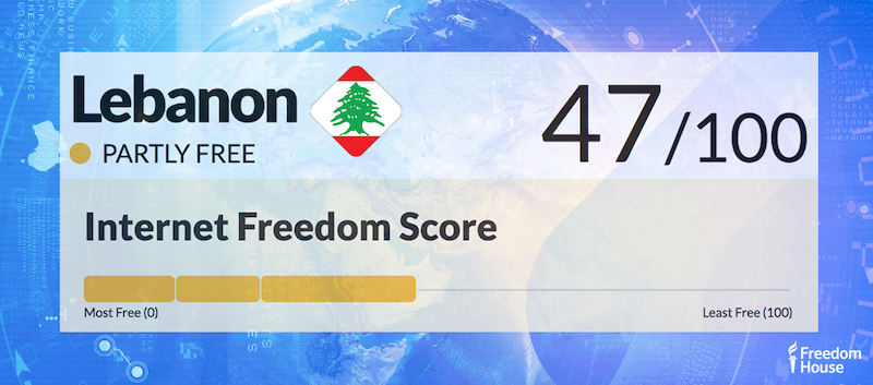 Lebanon Country Report | Freedom on the Net 2018