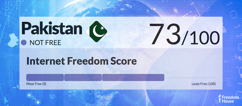 Pakistan Country Report | Freedom on the Net 2018