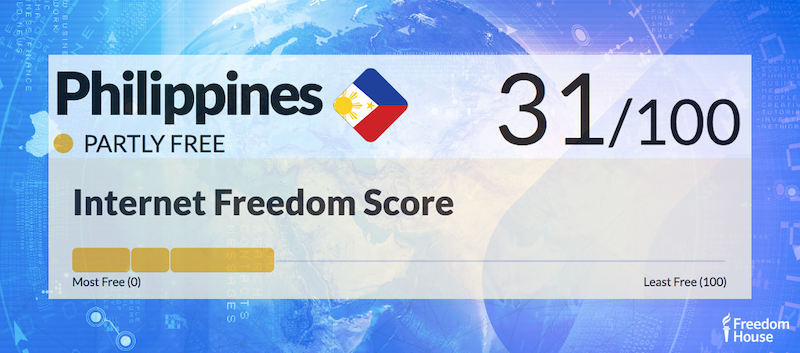 Philippines Country Report   Freedom on the Net 2018
