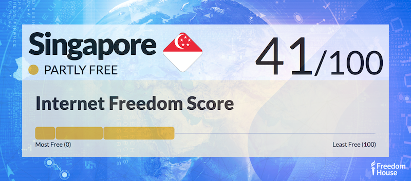 Singapore Country Report | Freedom on the Net 2018