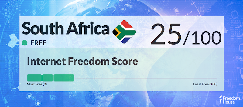 South Africa Country Report | Freedom on the Net 2018