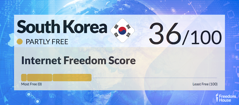 South Korea Country Report | Freedom on the Net 2018