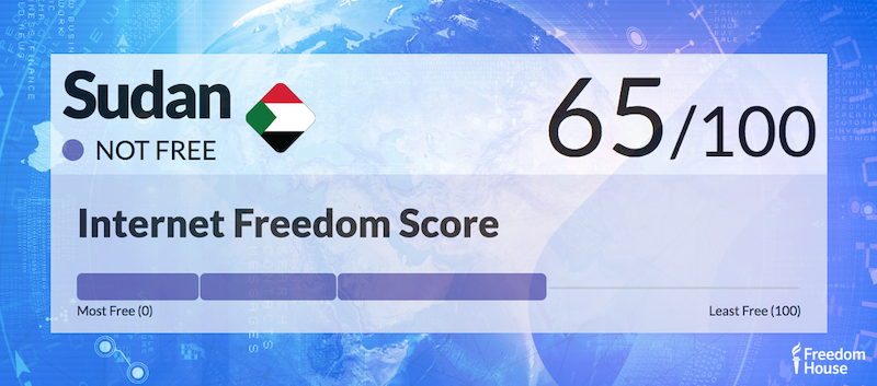 Sudan Country Report | Freedom on the Net 2018