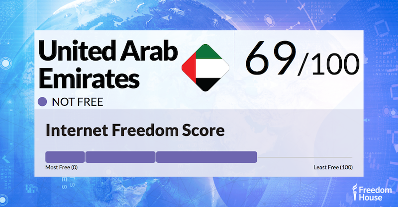 United Arab Emirates Report | Freedom on the Net 2018