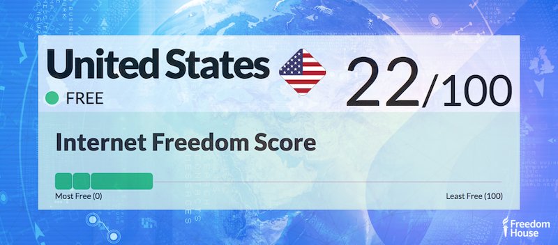 United States Country Report | Freedom on the Net 2018