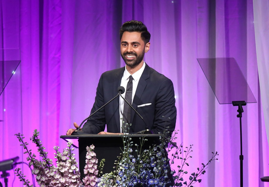 Hasan Minhaj at an event in California in November 2018