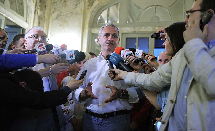 Liviu Dragnea, leader of the Social Democratic Party