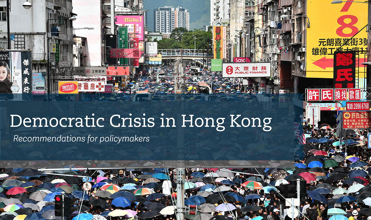 hong kong democratic crisis decline policy recommendations