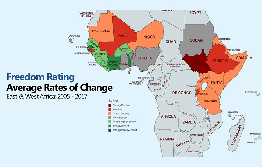 Democratic Governance in Africa: Three Key Trends | Freedom House