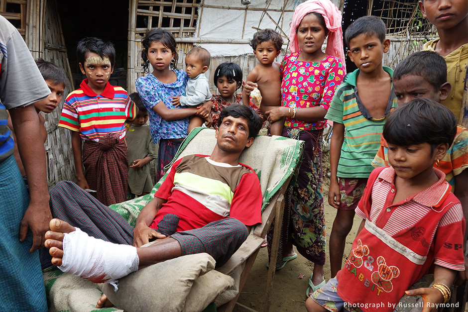 rohingya lack medical care