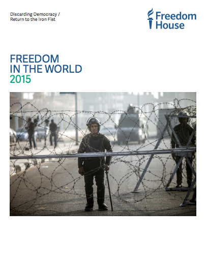 image of the freedom in the world cover report