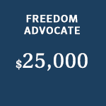 freedom advocate sponsor level