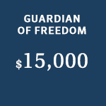 guardian of freedom sponsor level