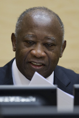 Former Ivorian President Gbagbo