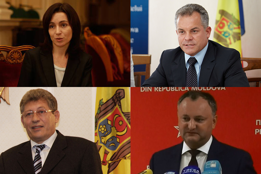 Candidates for Moldova Presidential Elections