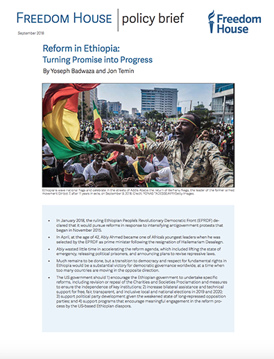 Reform in Ethiopia: Turning Promise into Progress | Freedom