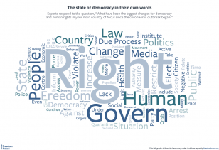 COVID19 pandemic and human rights The state of democracy in their own words