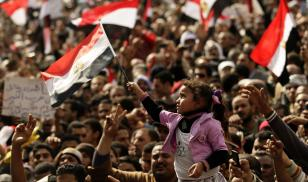 Egypt Civil Unrest, Feb 2011. Photo by Felipe Trueba/​EPA/​Shutterstock