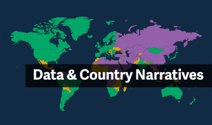 data and country narratives map box