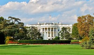 The White House of the United States of America in Washington, DC.