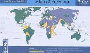 Freedom in the World 2010 Map