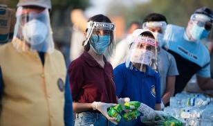 covid PPE masks mumbia india coronavirus