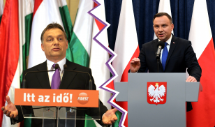 Orban and Duda Democratic Decline