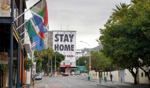 South Africa coronavirus pandemic stay home