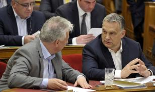 Hungary prime minister and deputy prime minister