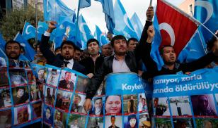 Turkey protest Uighurs Istanbul transnational repression