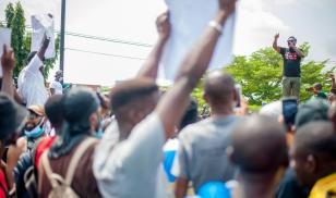 Protests against police brutality in Nigeria