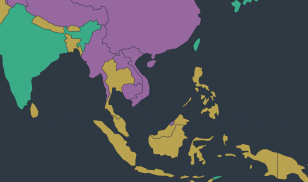 Asia pacific region FIW 2020 screenshot