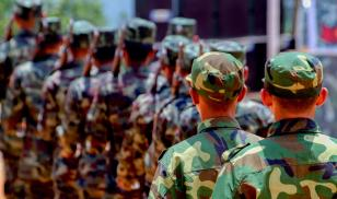 Myanmar military personnel