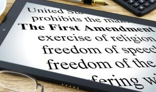 First Amendment technology tablet