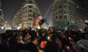 Candlelit vigil for victims of 2011 Maspero protests