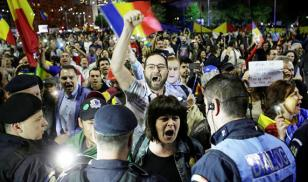 romania protest corruption law amendment