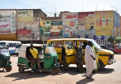 People in Khartoum, Sudan. Editorial credit: Claudiovidri / Shutterstock.com