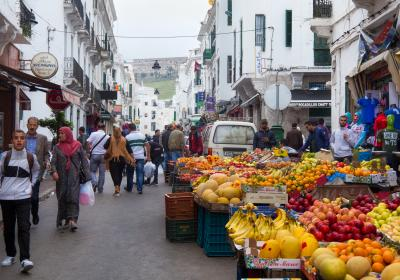 People in Tetouan, Morocco. Editorial credit: Alexey Pevnev / Shutterstock.com