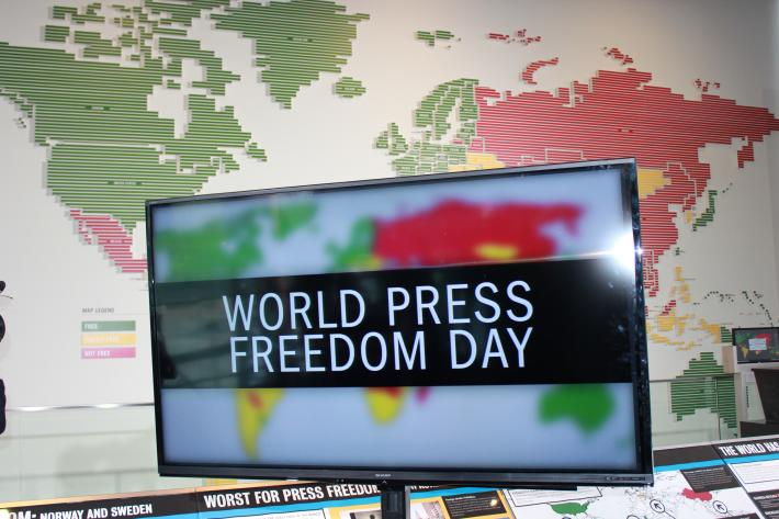 Freedom House World Press Freedom Day