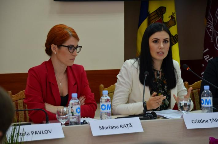 Moldova program civil society meeting
